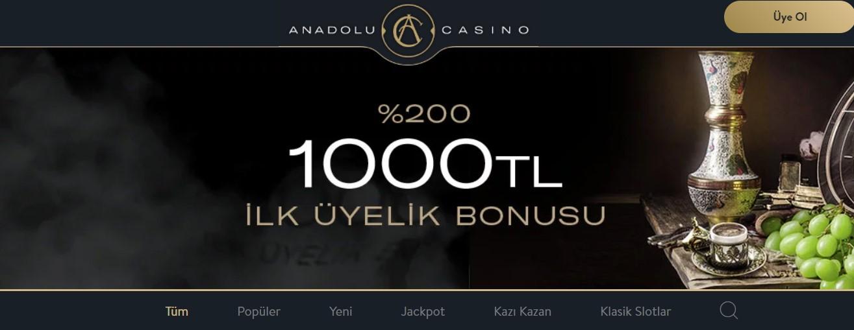 Anadolu Casino Analiz, Giriş Adresi ve Anadolu Casino Müşteri Anketi
